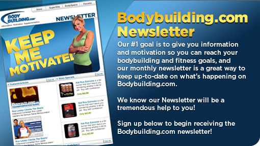 Bodybuilding.com newsletter