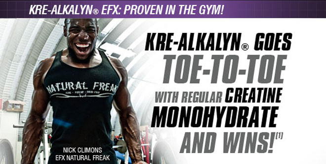 KRE-ALKALYN GOES TOE-TO-TOE WITH REGULAR CREATINE MONOHYDRATE AND WINS! (1)