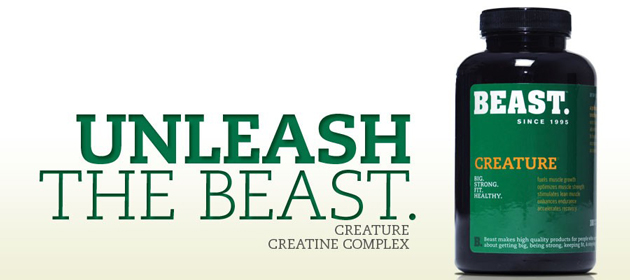 Beast Creature: Unleash The Beast. Creature Creatine Complex
