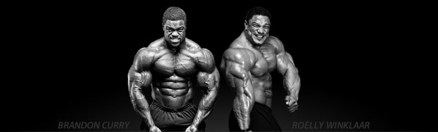 Brandon Curry & Roelly Winklaar - Team BSN Athletes