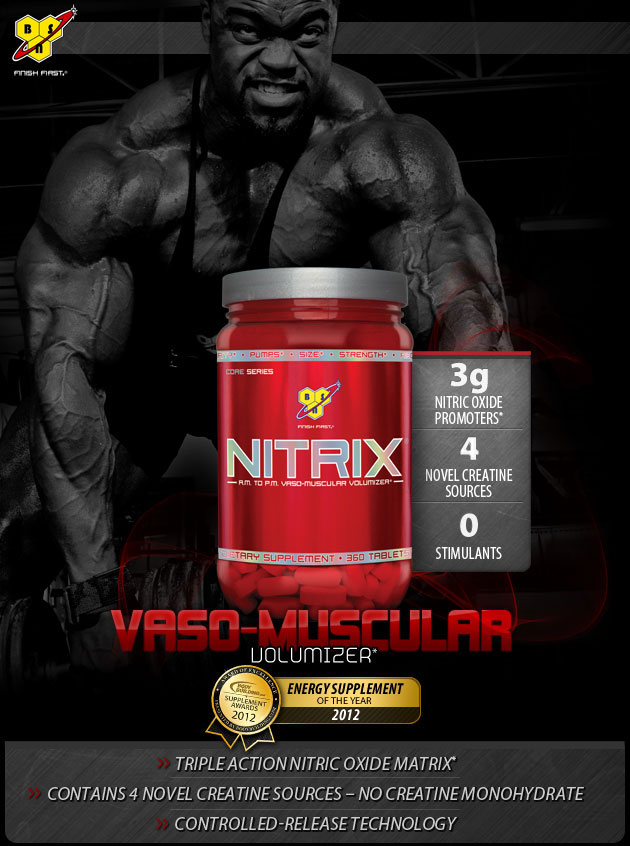 NITRIX - Vaso-Muscular Volumizer