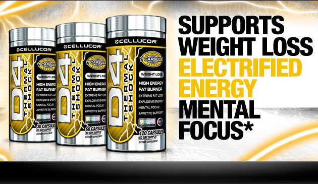 Cellucor D4 Thermal Shock - Supports Weight Loss, Electrified Energy, Mental Focus*