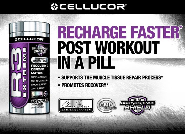 Recover Faster Post Workout In A Pill -Boosts Immune System -Supports The Muscle Tissue Repair Process -Reduces Recovery Time