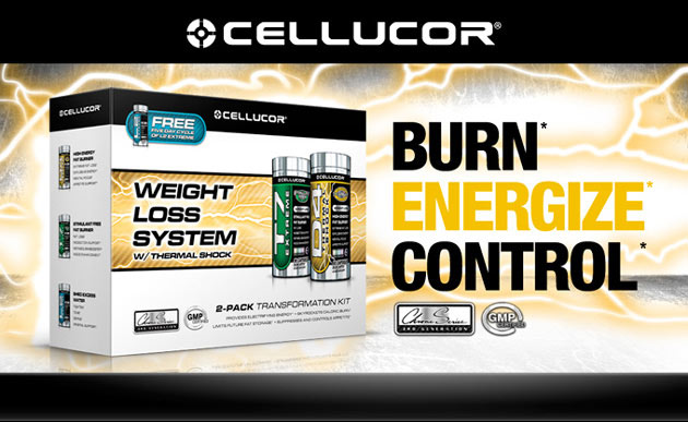 Cellucor Weight Loss System - Burn, Energize, Control