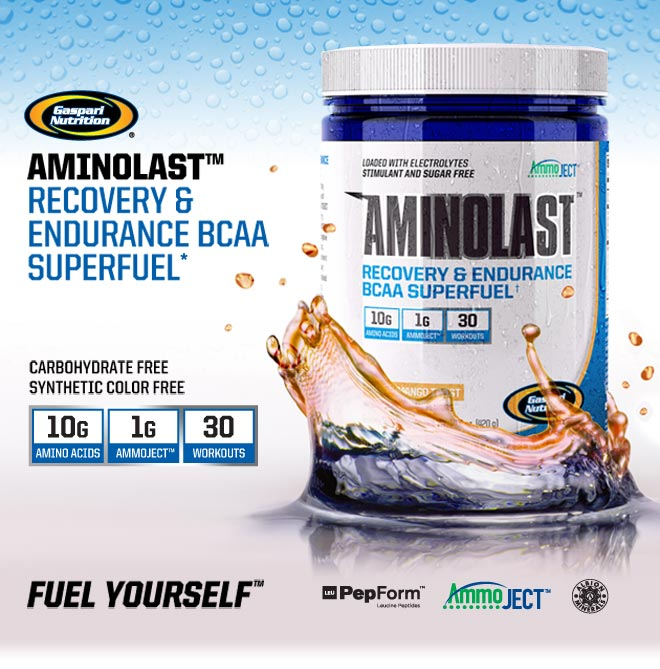 Aminolast Recovery & Endurance BCAA Superfuel