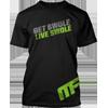 Get Swole Live Swole Performance Tee Black Front