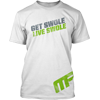 Get Swole Live Swole Performance Tee White Front