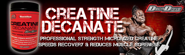 MuscleMeds CREATINE DECANATE - Professional Strength Micronized Creatine Speeds Recovery & Reduces Muscle Soreness*