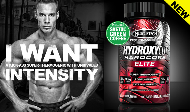 Muscletech Hydroxycut Hardcore Elite - I Want A Kick-Ass Super-Thermogenic With Unrivaled Intensity