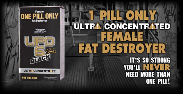 Lipo 6 Black Hers Ultra Concentrate - 1 Pill Only Ultra Concentrated Female Fat Destroyer.* It's so strong you'll never need more than one pill!