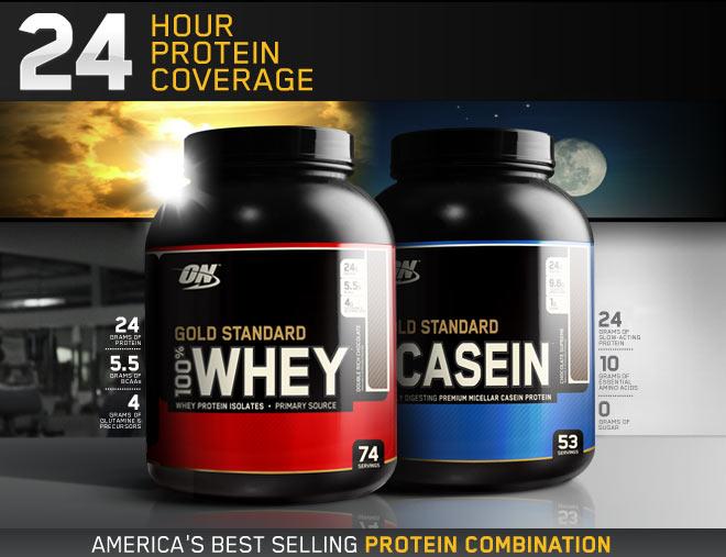 Optimum Gold Standard 100 Casein At Bodybuilding Com
