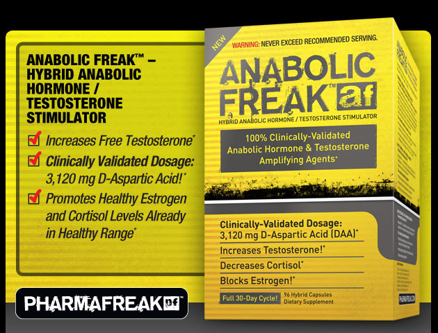 pharmafreak anabolic freak prohormone