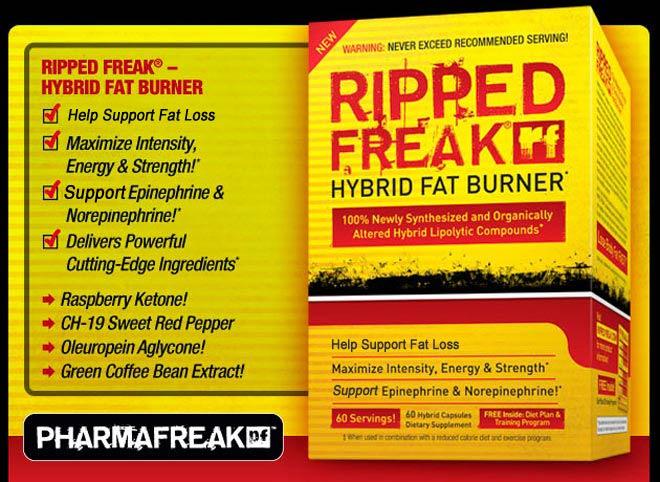 Ripped Freak Hybrid Fat Burner