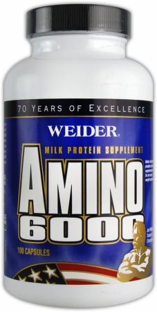 Image for Weider - Amino 6000