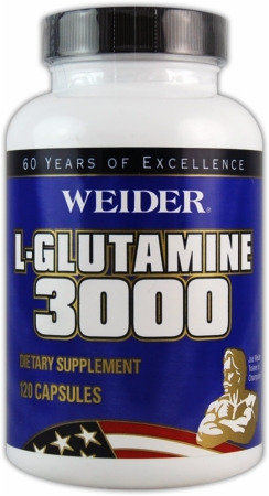 Image for Weider - L-Glutamine 3000