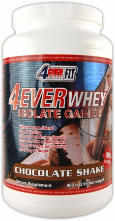 Image for 4Ever Fit - 4Ever Whey - The Isolate Gainer