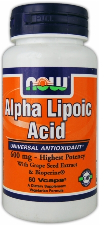 Image for NOW - Alpha Lipoic Acid Plus