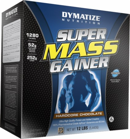 Dymatize Super Mass Gainer - 6 Lbs. - Rich Chocolate