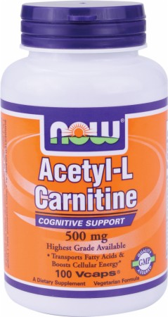 Image for NOW - Acetyl-L-Carnitine Capsules