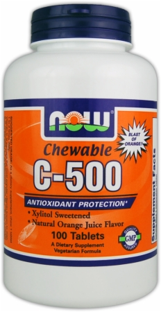 NOW C-500 - 100 Tablets
