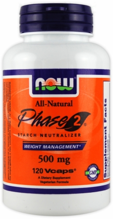 NOW Phase 2 -Dr Oz White Kidney Bean Extract For Weight Loss