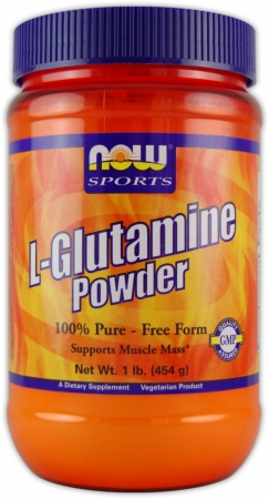 Image for NOW - L-Glutamine Powder