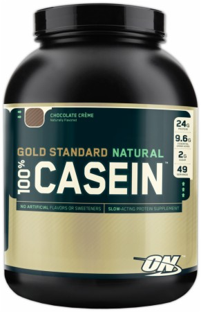 Optimum Gold Standard Natural 100% Casein - 4 Lbs. - Chocolate Creme