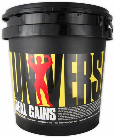 Universal Nutrition Real Gains - 10.6 Lbs. - Cookies Cream