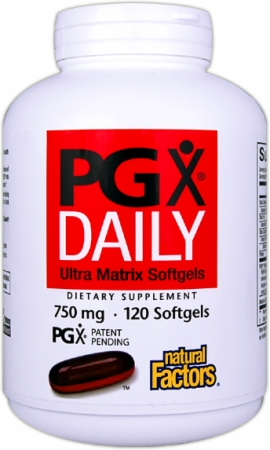 Natural Factors PGX Daily Ultra Matrix, dr oz best appetite suppressants