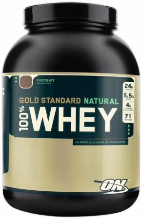 Optimum Gold Standard Natural 100% Whey - 2 Lbs. - Natural Chocolate