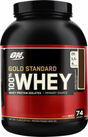 Optimum Gold Standard 100% Whey - 2 Lbs. - Cookies Cream