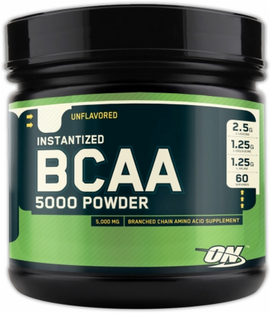 Optimum BCAA 5000 Powder - 60 Servings - Unflavored