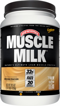 CytoSport Muscle Milk - 2.47 Lbs. - Chocolate Chip Cookie Dough