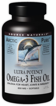 Source Naturals ArcticPure Ultra Potency Omega-3 Fish Oil - 60 Softgels