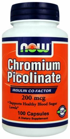 Image for NOW - Chromium Picolinate