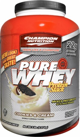 Champion Pure Whey Protein Stack