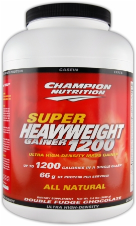Image for Champion - Super Heavyweight Gainer