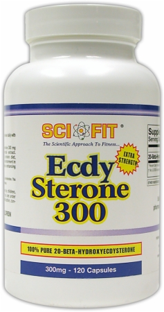 image 24278 450 white SciFit EcdySterone 300   300mg/60 Capsules