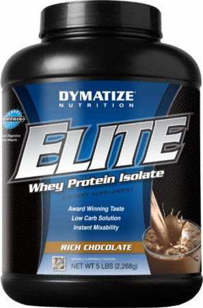 Dymatize Elite Whey Protein Isolate - 10 Lbs. - Cafe Mocha