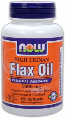 Image for NOW - High Lignan Flax Oil