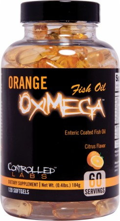 Image for Controlled Labs - Orange OxiMega Fish Oil