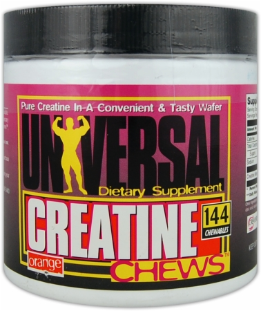 Universal Creatine Chews - 144 Chews - Grape