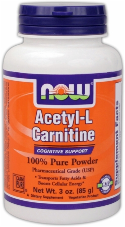 Image for NOW - Acetyl-L-Carnitine Powder