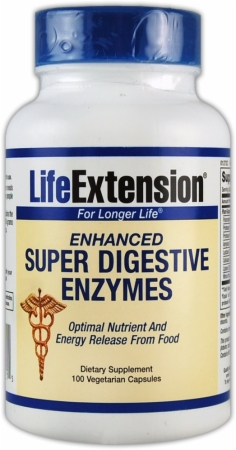 image 24880 450 white Life Extension Enhanced Super Digestive Enzymes   100 Capsules