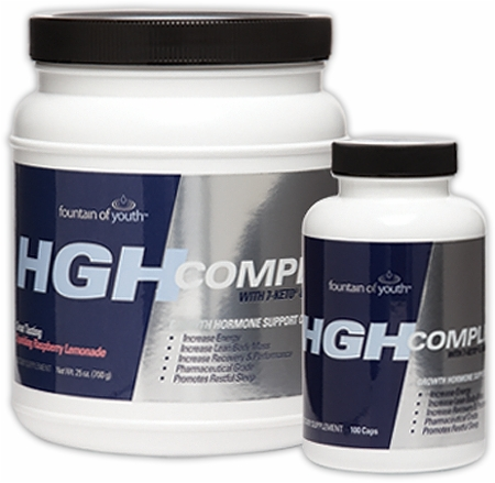 Image for Fountain Of Youth - HGH Complete