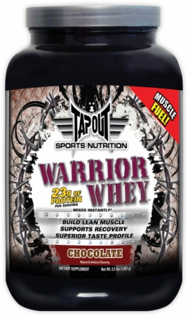 Image for TapouT Sports Nutrition - Warrior Whey
