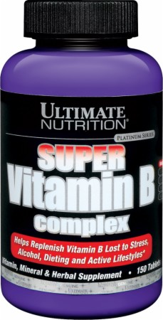 Ultimate Nutrition Super Vitamin B-Complex - 150 Tablets