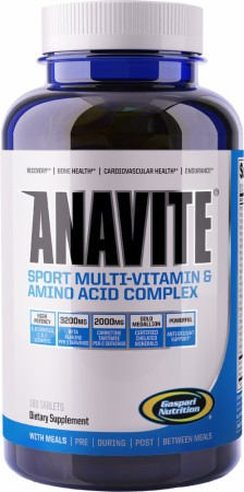Gaspari Nutrition Anavite - 180 Tablets