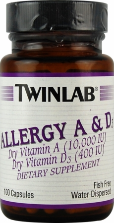 Image for Twinlab - Allergy A D