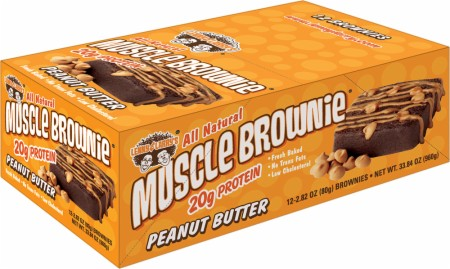 Lenny Larry's Muscle Brownie - 12 Bars - Triple Chocolate